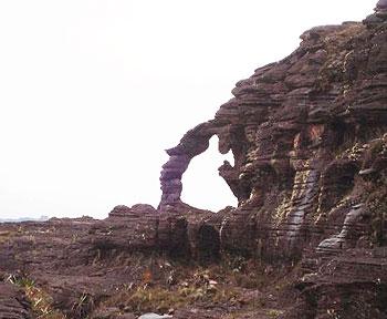 Elephant rock formation