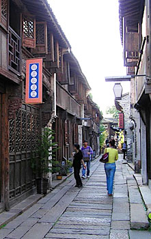 Wuzhen is full of charming little lanes full of shops, restaurants, museums and workshops.