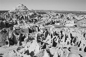 The ancient village of Siwa.