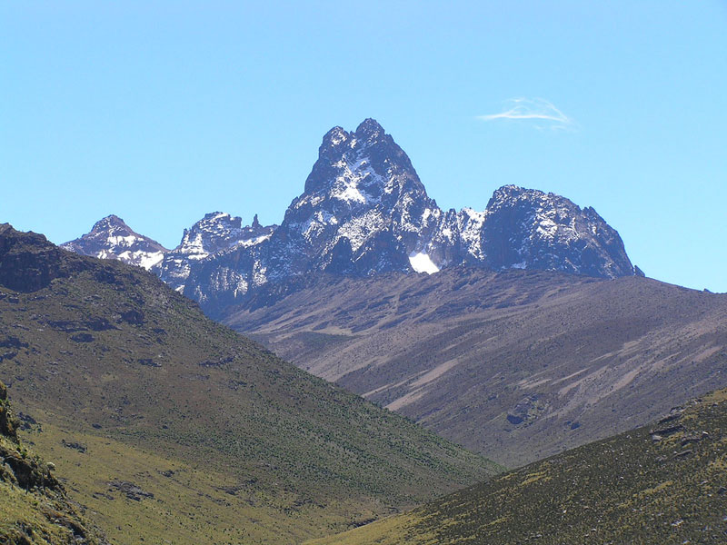 'Kilimanjaro is bigger, but Mount Kenya is brighter.'