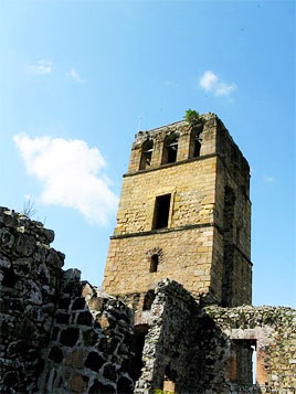 The ruins of Panama Viejo are a link to the city's past