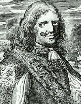 The pirate Henry Morgan, who sacked Panama City in 1671