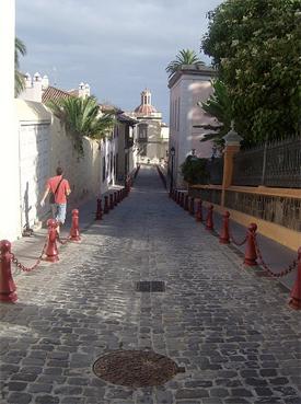 Terra cotta streets of Laguna.