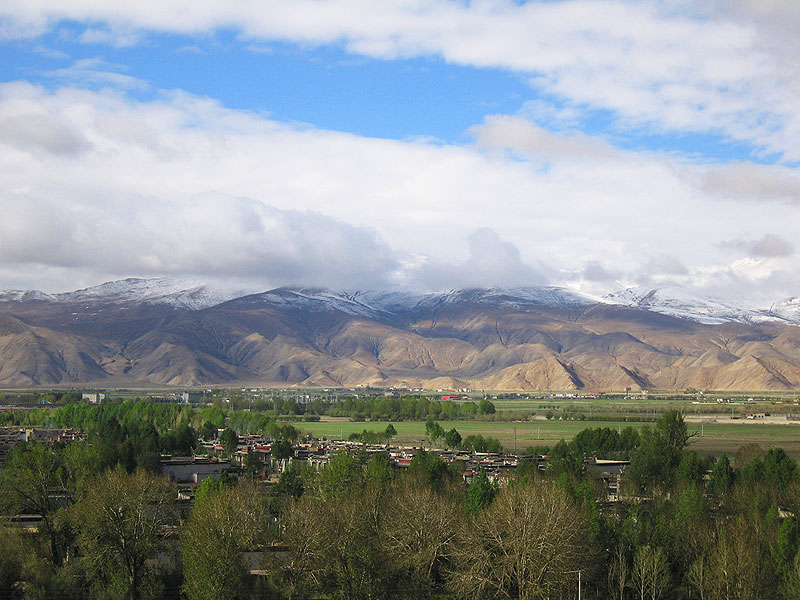 The Gyantze Valley in Tibet1
