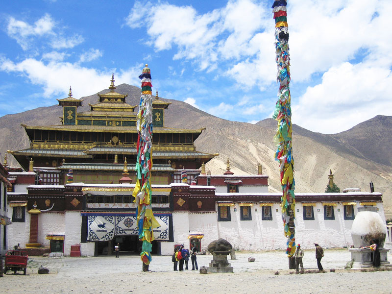The Samye Monastery in Tibet