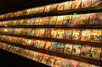 Geppi's Entertainment Museum in Baltimore has an extensive collection of original comics.