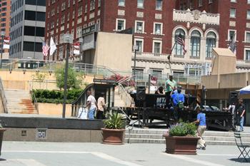 The Esplanade in Baltimore, Maryland.