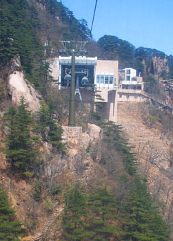 Cable lift station