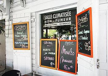 French flavor in Marigot, St. Martin