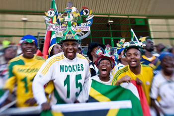 South Africa is welcoming the world to its shores for the FIFA 2010 World Cup - Ayoba!