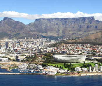 The Cape Town Stadium - ready for action!