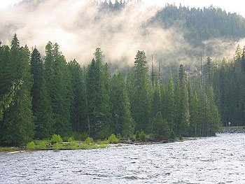 Along the Clearwater River in Idaho