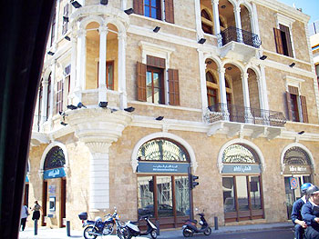 Renovated building in Downtown Beirut