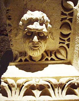 A satyr at Baalbeck