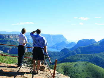 The Blyde River Canyon in Mpumalanga is the third largest in the world. Photo by Petro Kotz