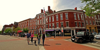 The Portsmouth Athenaeum on Market Square. Do not hesitate to walk in... you may be in for a surprise!