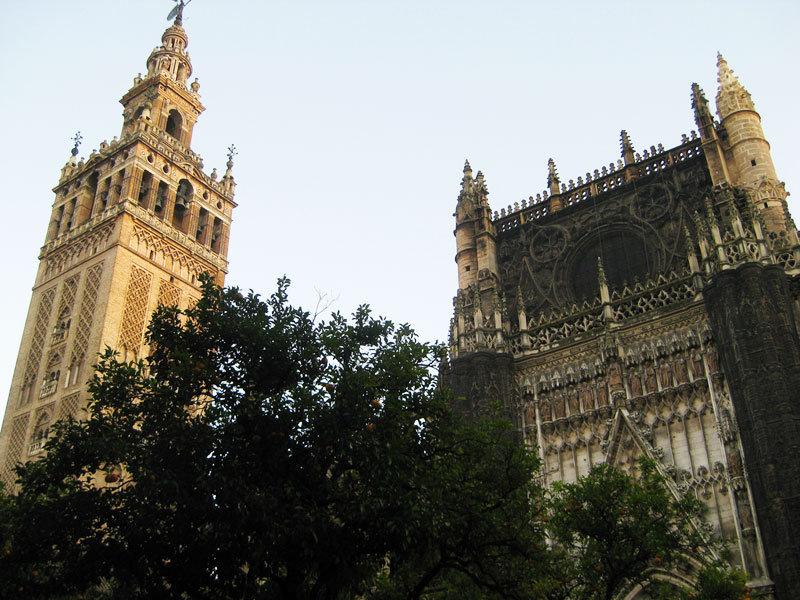 The Giralda Tower and the Seville Cathedral