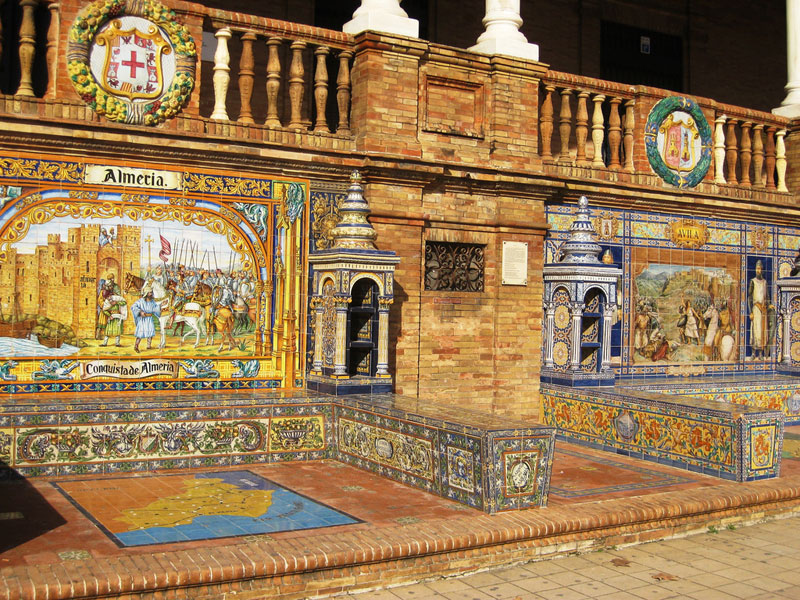 The Plaza de España in Seville. Photo by Angela Doherty.