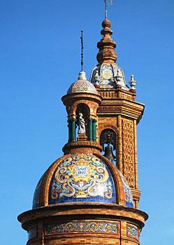 The Plaza de España Tower
