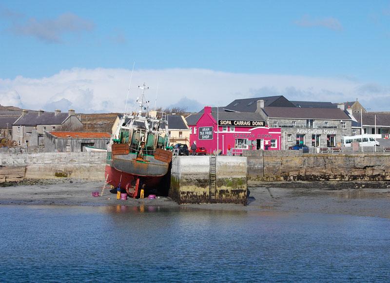 Cill Rónáin on Inis Mór, the largest of Ireland's Aran Islands