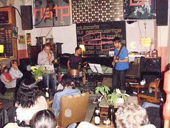 Free improv at Cafe Wendel, Kreuzberg