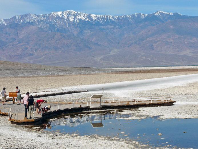 Bad Water Basin in Death Valley, California