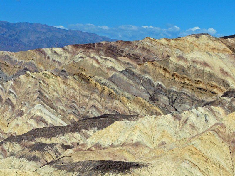 Golden Canyon in Death Valley, California