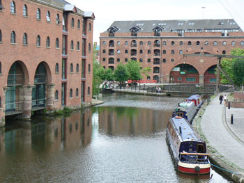 Barges in Deansgate