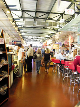 The Milwaukee Public Market is a great place to grab lunch, pick up locally produced goods or attend a cooking class.
