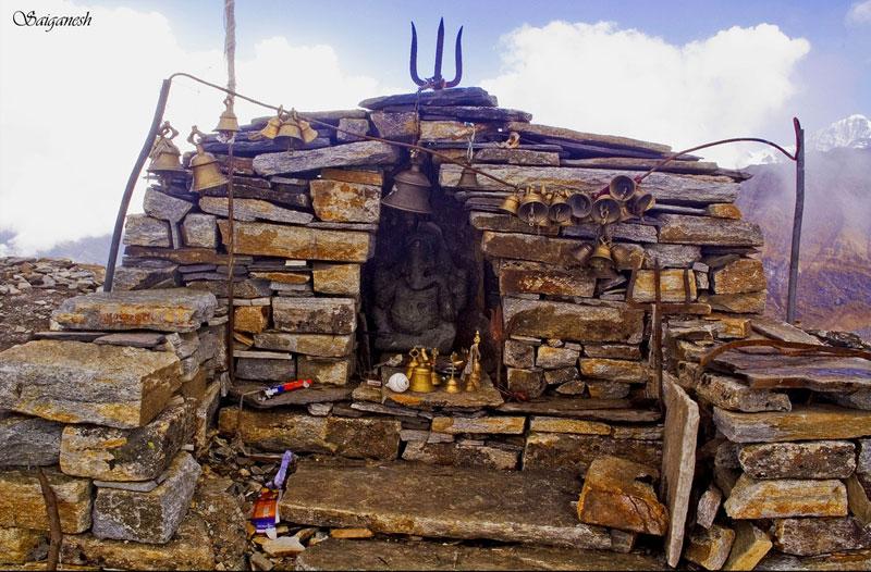Temple of Kalu Vinayak in Uttarakhand, India