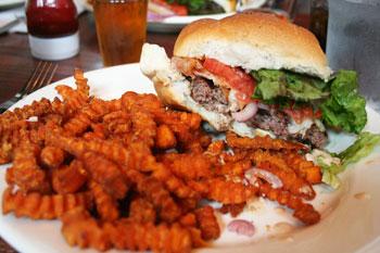 The Pump Station Burger