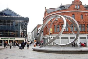 Belfast city center