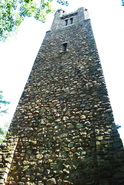 Bowman's Hill Tower in Washington Crossing, Pennsylvania