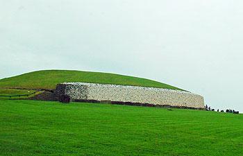 Neolithic burial mound at Newgrange
