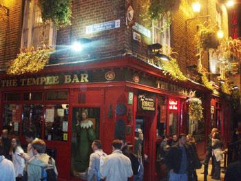 Dublin's famous Temple Bar