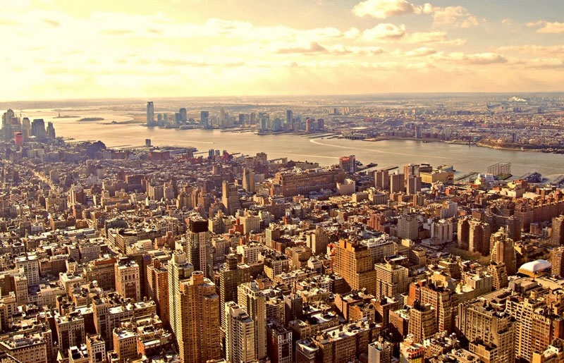 Manhattan from the Empire State Building. Photos by Pinaki Chakraborty.