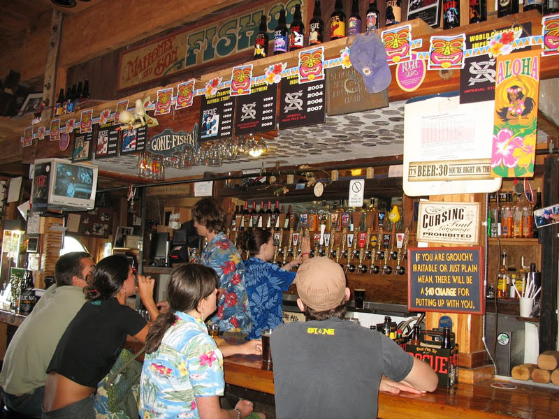 The Rogue National Brewery in Newport, Oregon