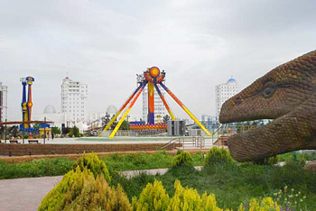 Turkmenbashi's Land of Fairy Tales. Photos by Tom Coote.
