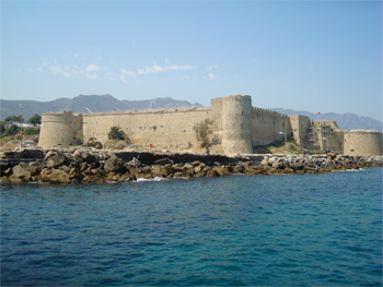 Kyrenia Castle, North Cyprus. photo by Aftab H. Kola