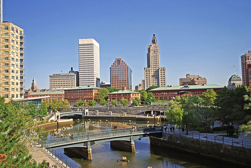 Waterplace Park in Downtown Providence