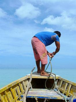 Boat to Manono