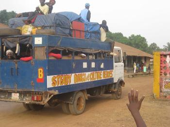 Steady Bongo arrives on the scene.