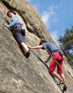 Wallachian Rocks on the Czech-Slovak Border 1