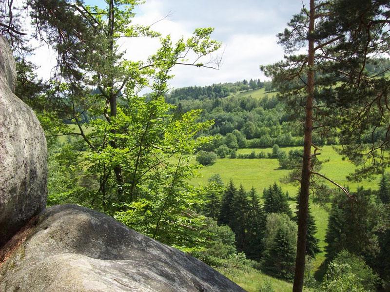Peaceful views from Pulcinske Skaly in Wallachia, Czech Republic. Photo by Melinda Brasher.