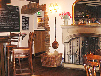 Specials of the day feature locally-sourced meats at The Horseshoe Inn, Levisham.