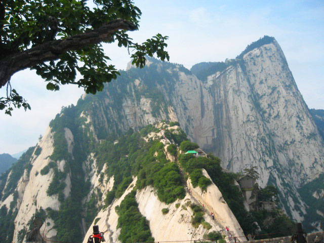 The West Peak of Hua Shan, China's 'Splendid Mountain'