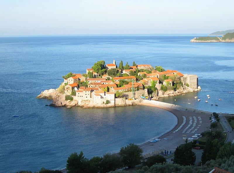 Sveti Stefan in Montenegro