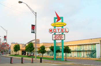 The Lorraine Motel where Dr. King was shot is now the home of the National Civil Rights Museum.