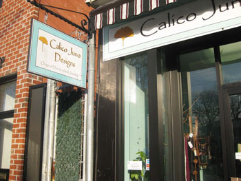 Calico Juno Designs on City Island, NY.