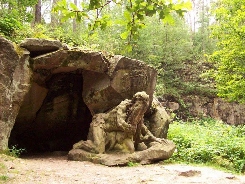 A hermit in the woods at Branuv Bethlehem